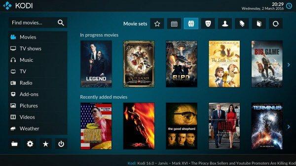 Transmitir películas en Kodi: La solución para ver películas
