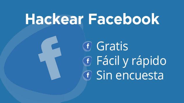 Cómo hackear una cuenta facebook