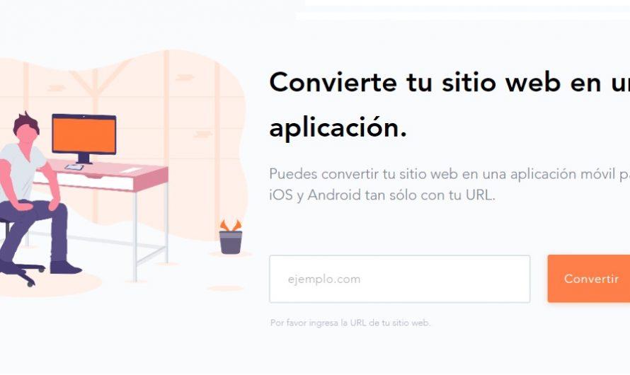 ¿Convertir un sitio web en una aplicación móvil?