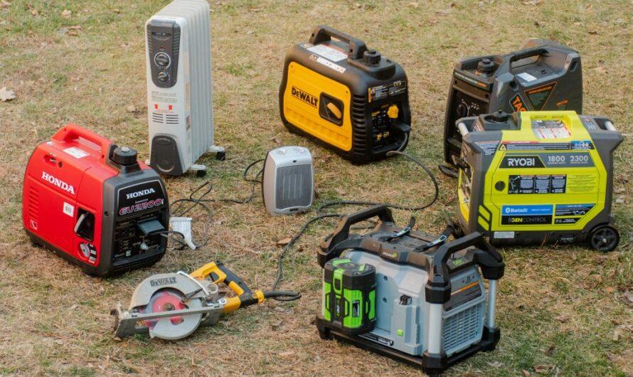 Consejos de seguridad del generador portátil